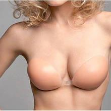 """Лиф силиконовый без бретель, """"Идеальный бюст"""" размер D (4-й размер груди)"""