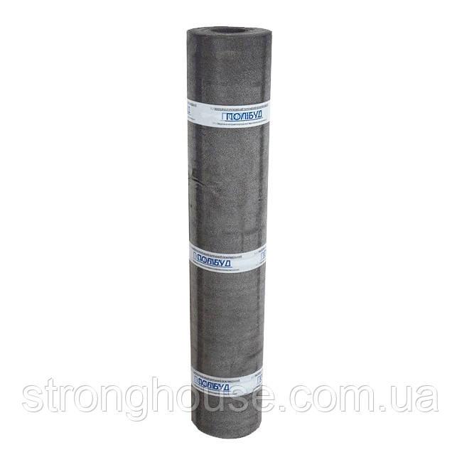 Рубероид ТехноНиколь Полибуд ХКП 3,5 сланец серый , (кровельный) 9 м .