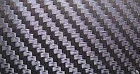 Карбоновая пленка с 3D структурой с микроканалами черная