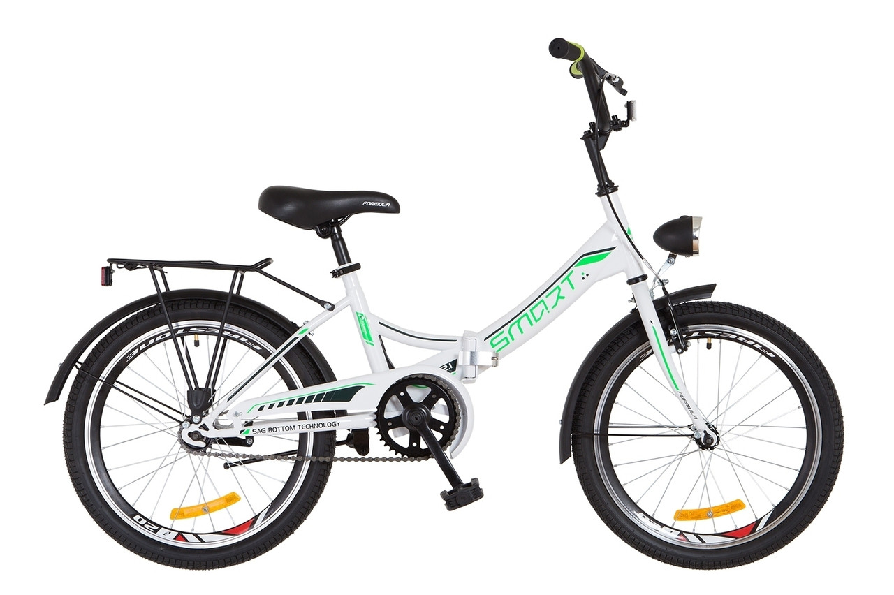 Велосипед детский складной 20 Formula Smart с фонарём 2018