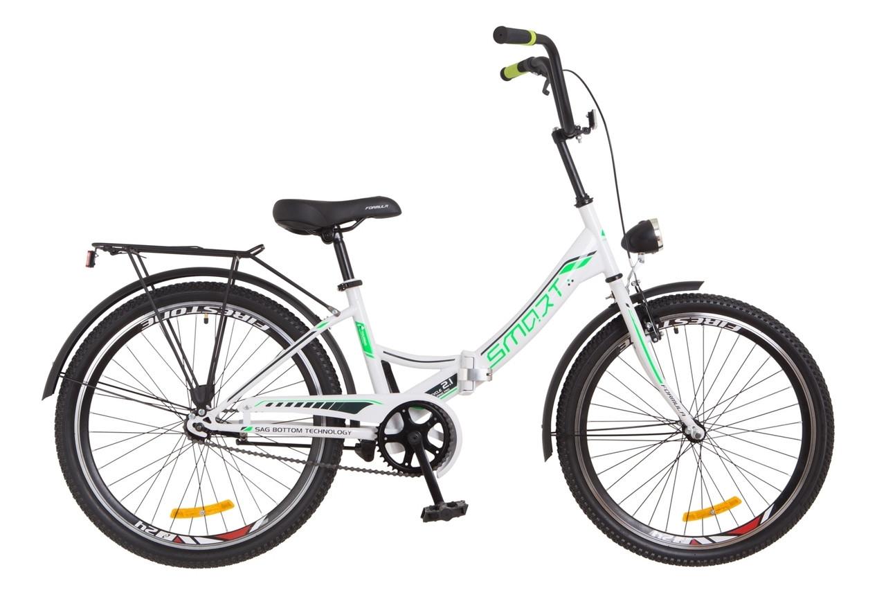 Велосипед складной подростковый 24 Formula Smart с фонарём 2018