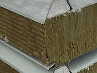 Сендвич панель кровельная базальт 80мм