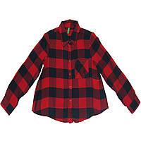 Рубашка United Colors of Benetton 110 см Темно-синяя с красным (5ARY5Q8J0 012)