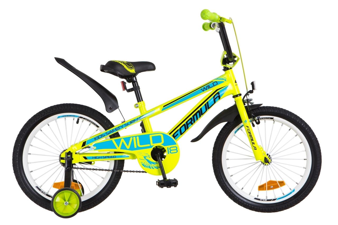 Велосипед детский 18 Formula Wild 2018