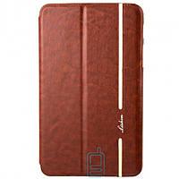 Чехол-книжка для Samsung Galaxy Tab 4 силиконовая накладка Lishen Коричневый
