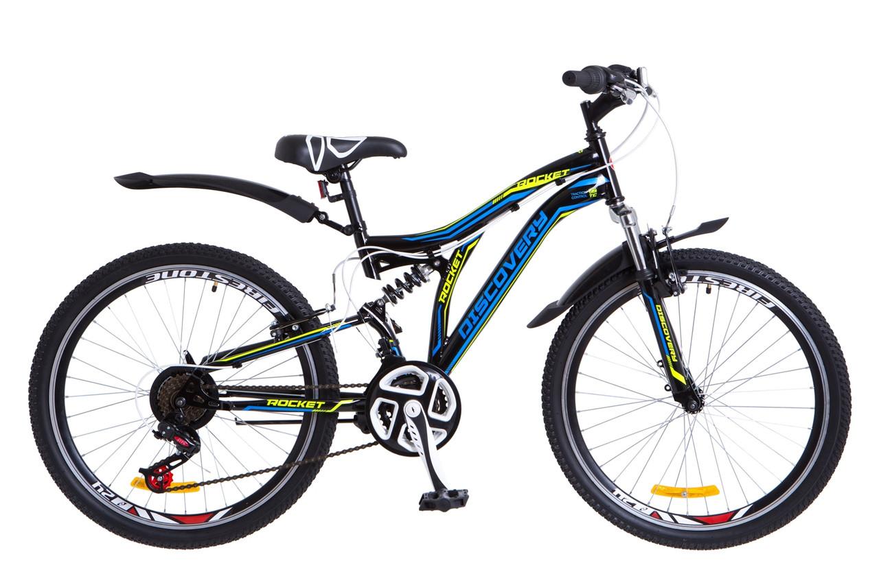 Велосипед подростковый горный 24 Discovery Rocket  2018