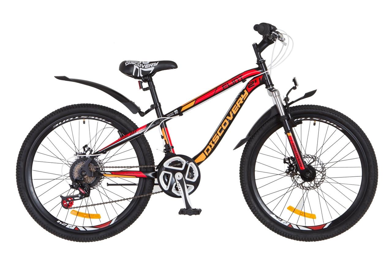 Велосипед подростковый горный 24 Discovery Flint am dd 2018
