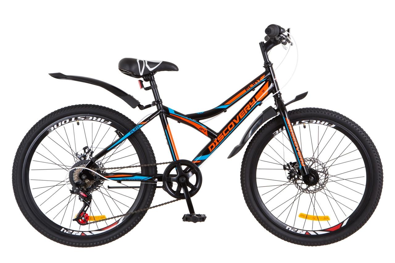 Велосипед подростковый горный 24 Discovery Flint dd 2018