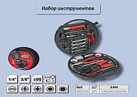 Набор инструмента, 99 шт.,  Top Tools 38D209