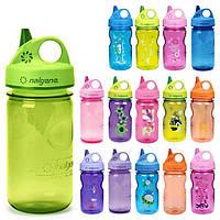Детская бутылка NALGENE Grip-n-Gulp для воды или соков, 350ml