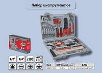 Набор инструмента, 100шт.,  Top Tools 38D210