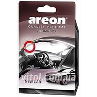 Освежитель воздуха AREON BOX ABC05 под сидение New Car (новая машина), освежитель воздуха для автомобиля, освежитель для машины
