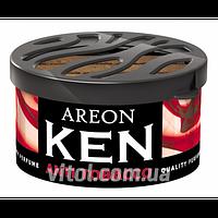 Освежитель воздуха AREON KEN AK15 Anti Tobacco (табак), освежитель воздуха для автомобиля, освежитель для машины