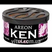 Освежитель воздуха AREON KEN AK18 Lilac (сирень), освежитель воздуха для автомобиля, освежитель для машины