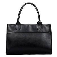 Женская сумка вместительная на молнии черная опт, фото 1