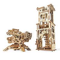 Механическая модель «Башня-Аркбалиста» | 3D-пазл | Ugears, фото 1