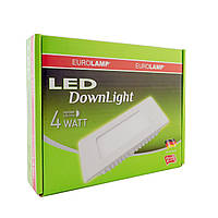 LED Downlight Eurolamp NEW 4W 4000K