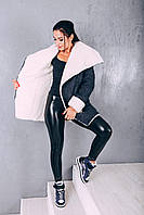 Пальто из шерсти на овчине Д 348, р.42 и 44