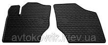 Резиновые передние коврики в салон Citroen C4 I 2004-2010 (STINGRAY)
