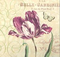Салфетка для декупажа 25х25см. Belle Jardiniere