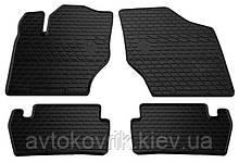 Резиновые коврики в салон Citroen C4 I 2004-2010 (STINGRAY)