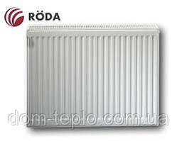 Радиатор стальной Roda RSR 300х1400 ➔ 22 ТИП ➔ боковое подсоединение
