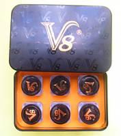 vigra V 8 вигра V 8 препарат для супер потенции 6 бутылочек в упаковке по 3 таблетки в бутылочке, фото 1