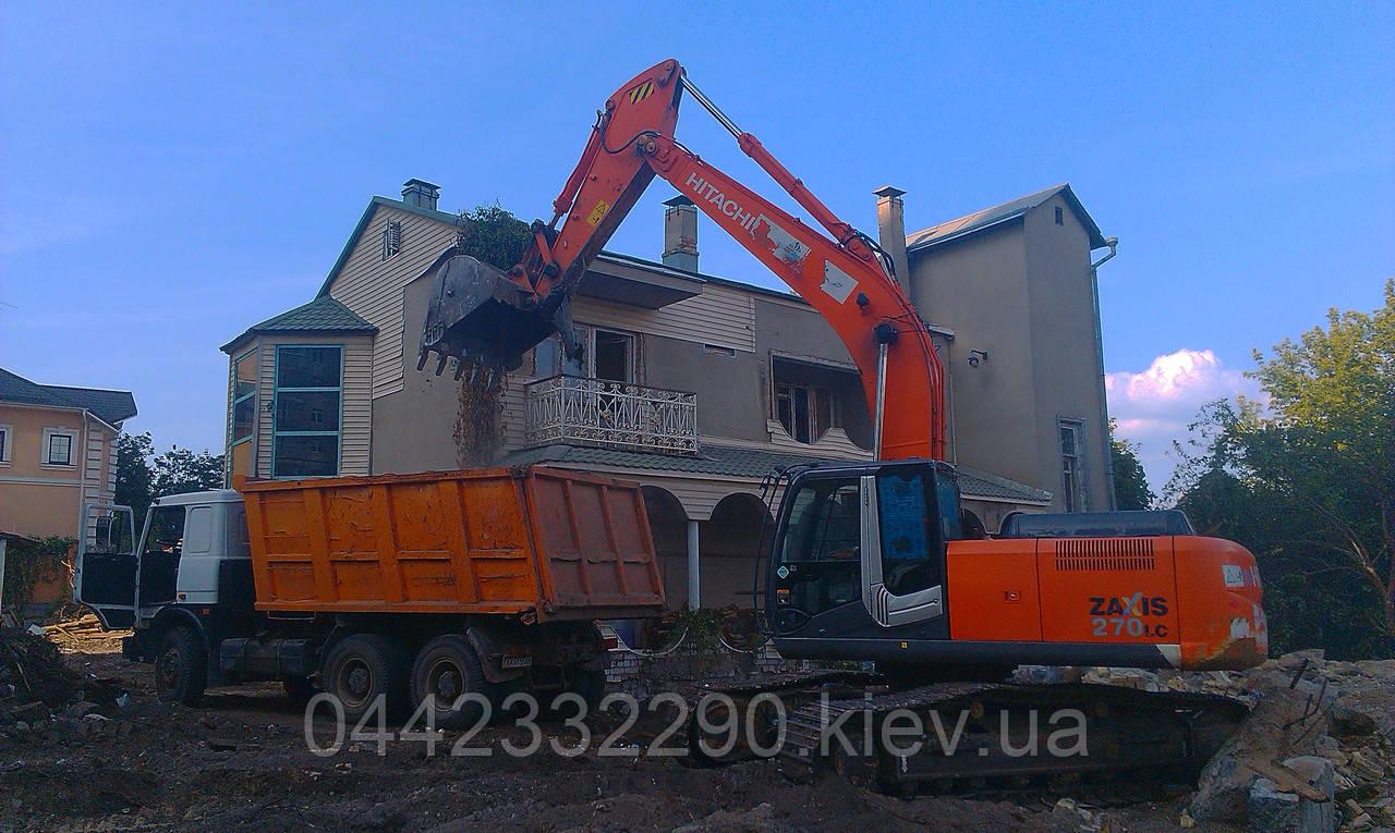 Услуги для вывоза строительного мусора в Киеве