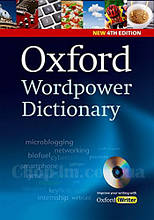 Oxford Wordpower Dictionary 4th Edition + CD-ROM