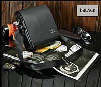 Мужская сумка Kangaroo 4364Bl черная, фото 1