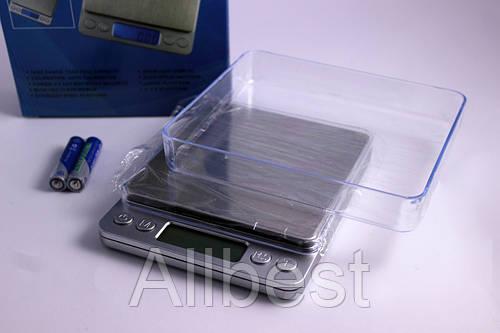Весы электронные цифровые / ювелирные СПАРТАК до 500 гр с точностью 0.01 гр
