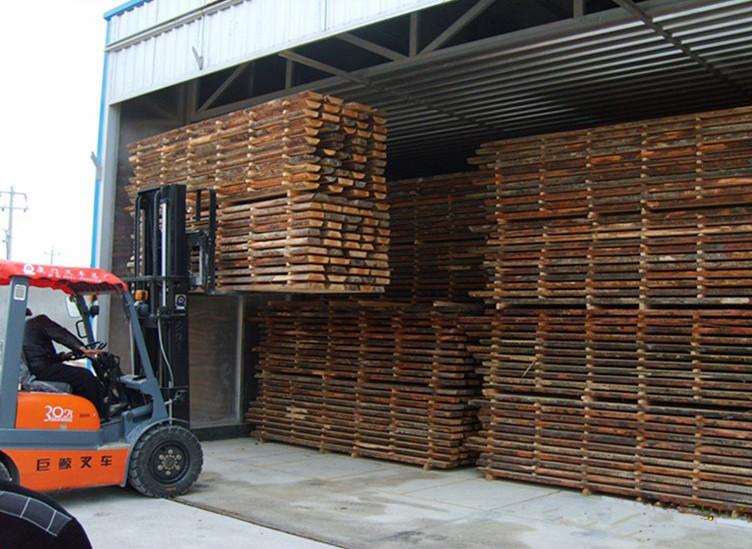 Послуга з просушування деревини у власній сушильній камері. 40 м3.