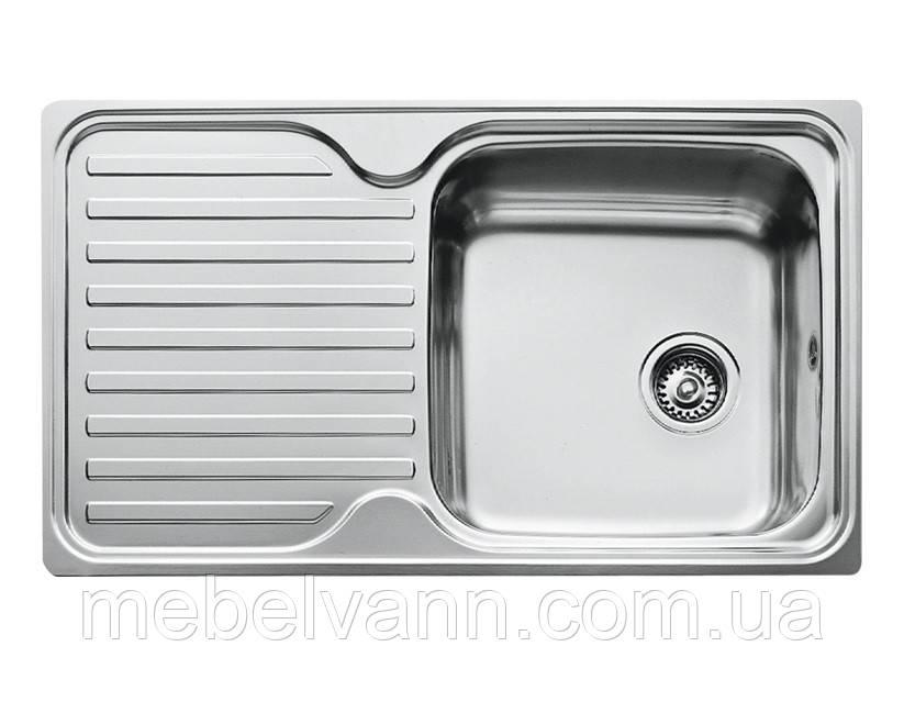 Врезная кухонная мойка 78х48 декор 0.8   150мм
