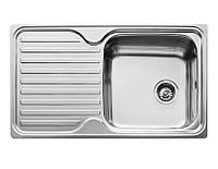 Врезная кухонная мойка 78х48 декор 0.8  180мм