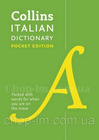 Collins Italian Dictionary Pocket Edition / Словарь Англо-итальянский, фото 2