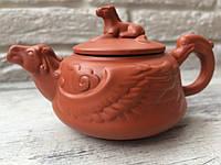 Чайник из иссинской глины. Мастерская Юань Бао. 150 мл.