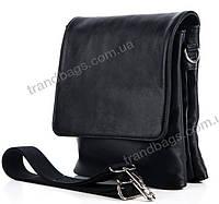 Мужская кожаная сумка 7427 Black Сумки мужские из натуральной кожи купить оптом Одесса