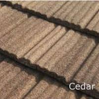 Светло-коричневая Композитная черепица Roser Stone Wood Cedar