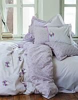 Постельное белье Karaca Home - Alisse розовое ранфорс полуторное