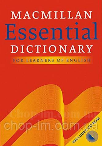 Macmillan Essential Dictionary with CD-ROM / Справочник по английскому языку, фото 2