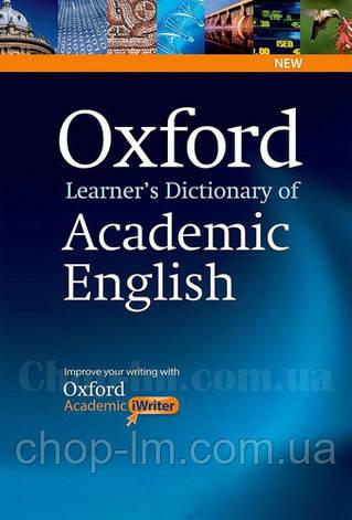 Oxford Learner's Dictionary of Academic English with iWriter CD-ROM / Академический английский словарь, фото 2