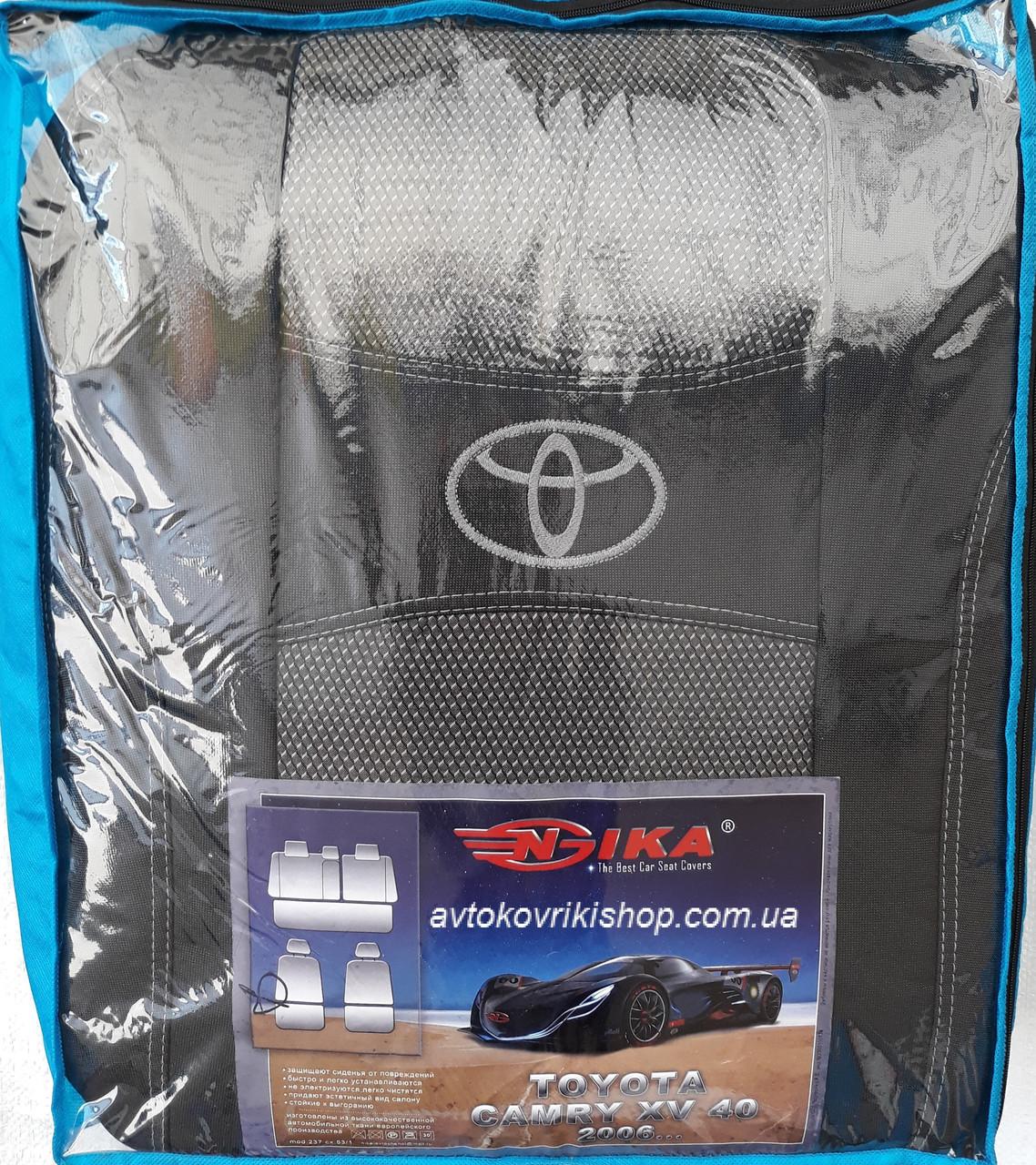 Авточехлы Toyota Camry XV40 2006- Nika