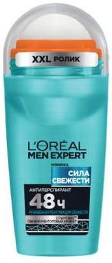 """Шариковый Дезодорант-Антиперспирант L'Oreal Paris Men Expert Сила свежести """" для мужчин, 50 мл"""