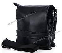 Мужская кожаная сумка 7430 Black Сумки мужские из натуральной кожи купить оптом Одесса