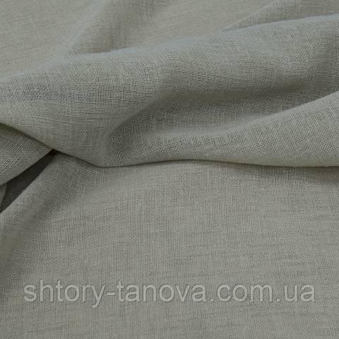 Тюль сетка, серый