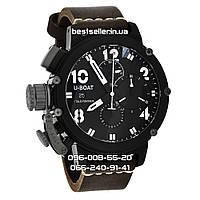Часы U-boat Italo Fontana Chimera 50mm Black/White/Brown. Replica: AAA., фото 1