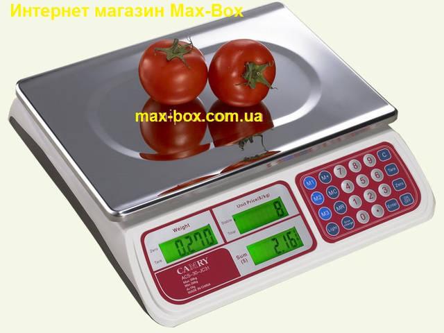 Торговые весы с поверкой Camry CTE-6-JC31