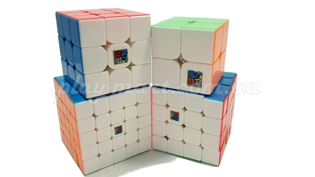 Набор кубиков Рубика MoYu Gift box pack color