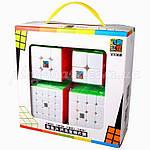 Набор кубиков Рубика MoYu Gift box pack color, фото 3