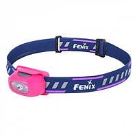 Налобный фонарь Fenix HL16  рожевий